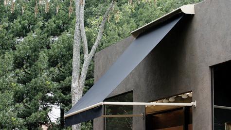 Toldos de Braço Pivotante - Hunter Douglas -  área externa/janela